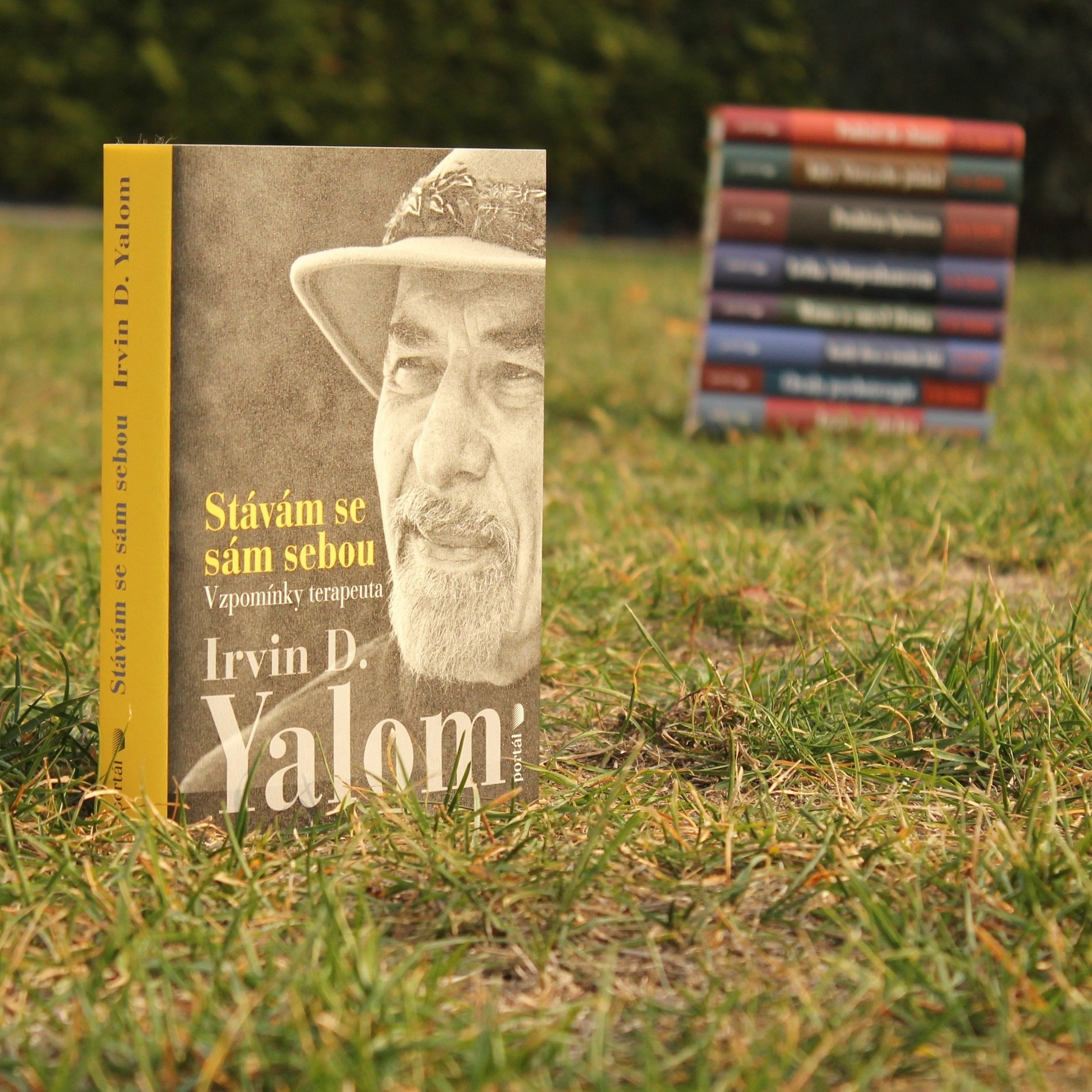 Irvin D. Yalom psychiatr psychotereapeut Stávám se sám sebou memoáry
