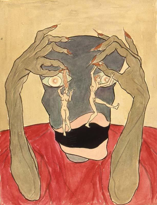 C.G. Jung Kniha obrazů psychologie psychoanalýza hlubinná terapie výtvarné umění surrealismus