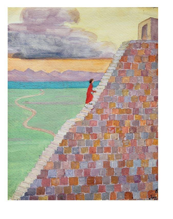 C.G. Jung Kniha obrazů psychologie psychoanalýza hlubinná terapie výtvarné umění dada