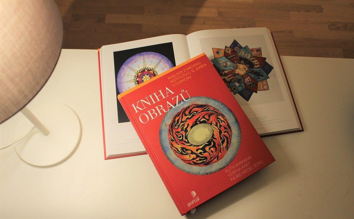 C.G. Jung Kniha obrazů psychologie psychoanalýza hlubinná terapie výtvarné umění
