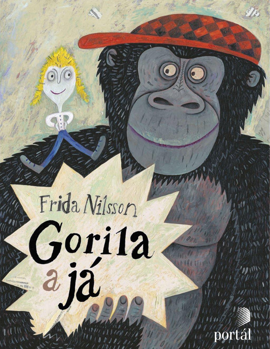 gorila a já Frida Nilsson knihy pro děti