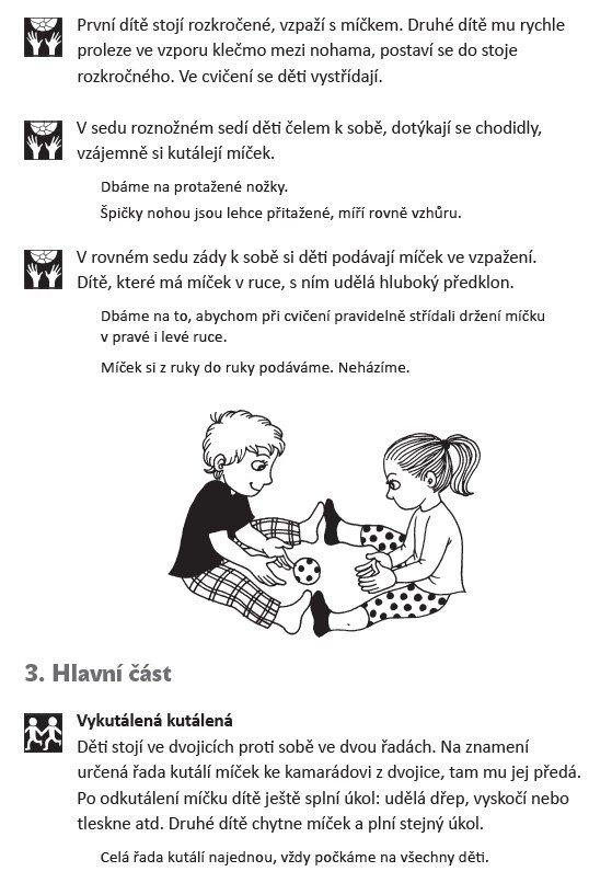 Když se řekne rozcvička Vladimíra Ottomanská Patricie Koubská Pohybové aktivity pro předškolní děti