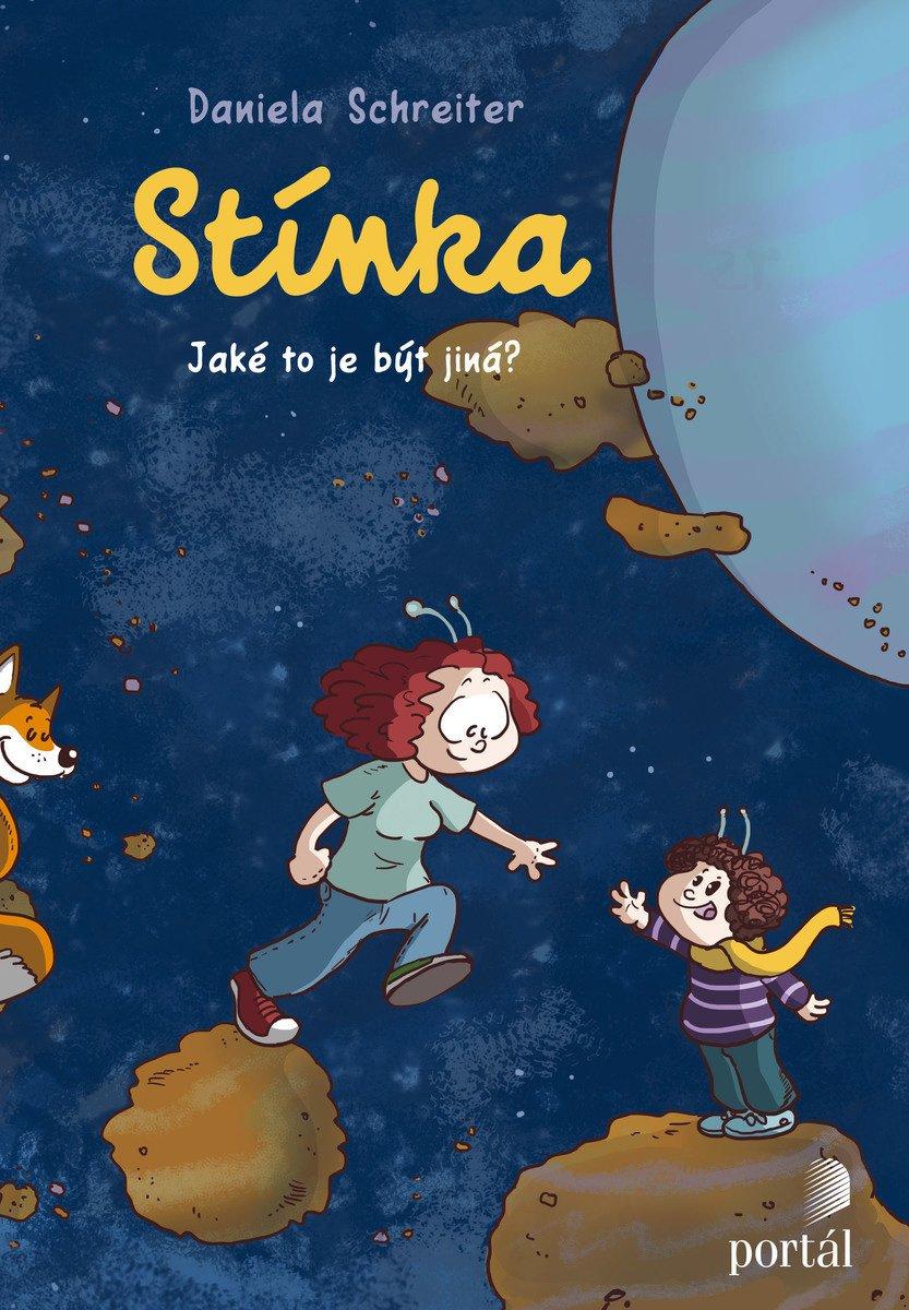 Stínka Daniela Schreiter Jaké je to být jiná Komiks o autismu