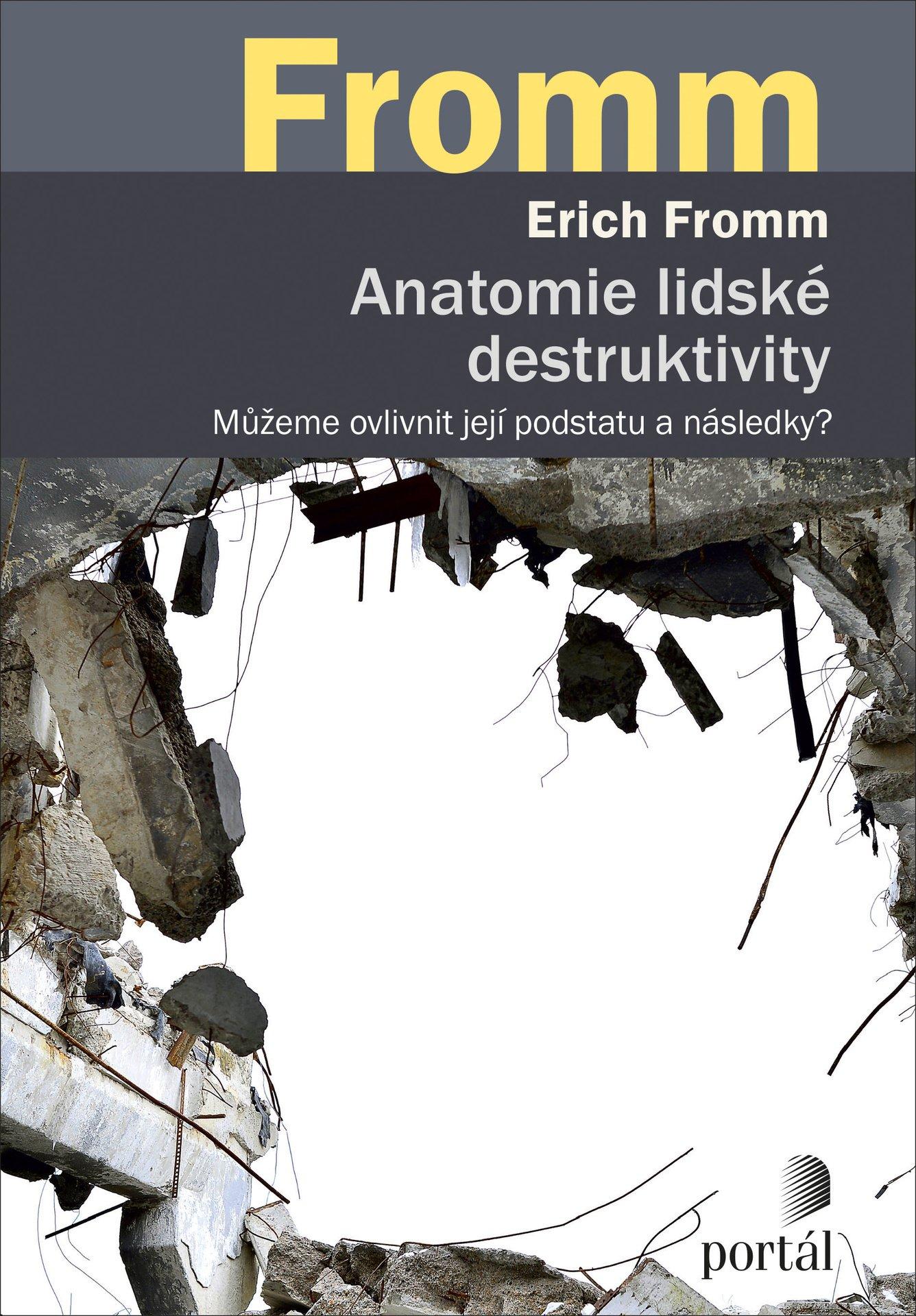 Fromm Erich, Anatomie lidské destruktivity, agrese, psychoanalýza