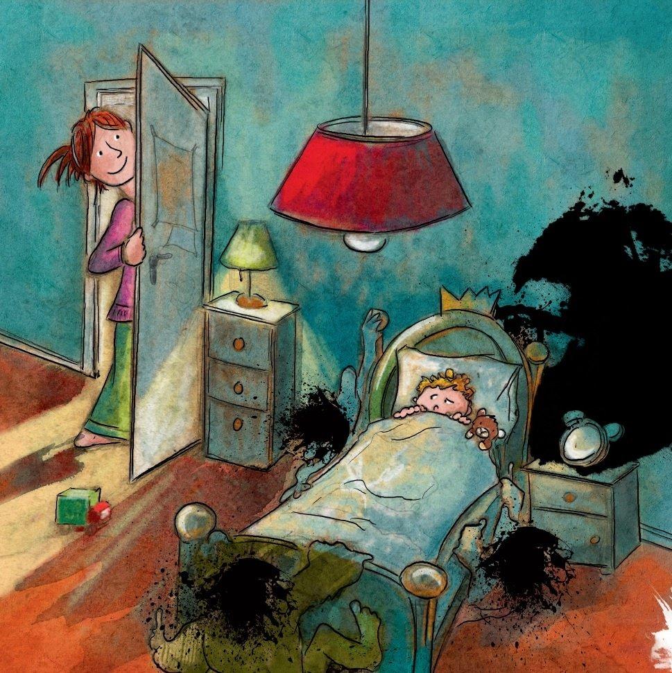 Ben Furman psycholog Toníkův zlý sen noční můry u dět