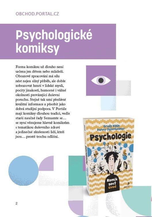 #uz30letjsmenahlavu nakladatelství Portál Psychologické komiksy