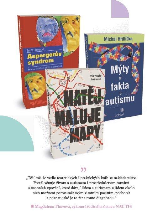 #uz30letjsmenahlavu nakladatelství Portál autismus Matej maluje mapy
