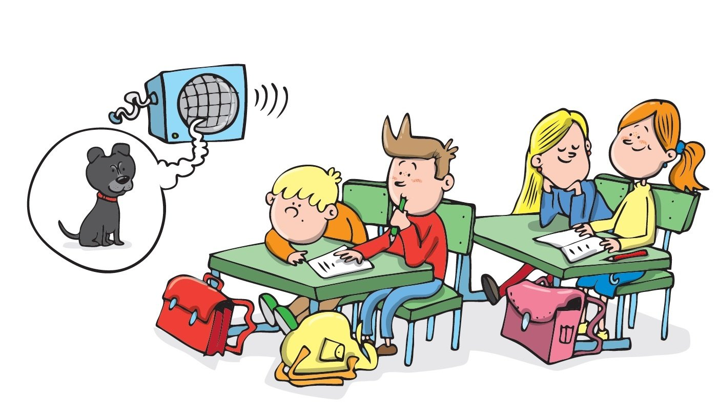 Zuzana Pospíšilová Školní štěně čtení pro třídu čtení do školky první čtení