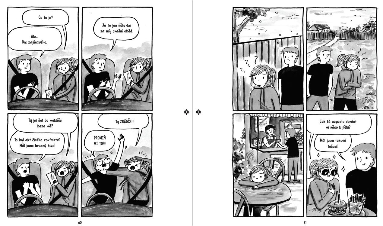 Debbie Tung komiks Když se introvertka vdá Introvertka v hlučném světě