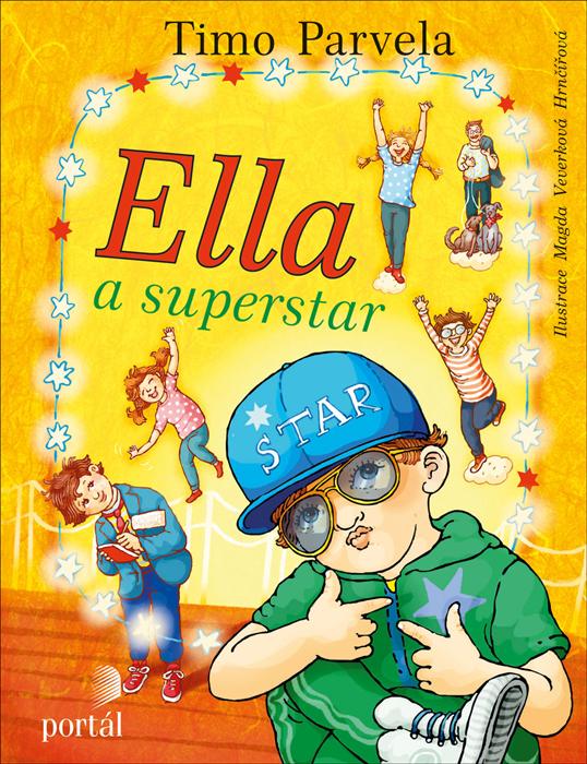 Ella a superstar Timo Parvela dětská kniha