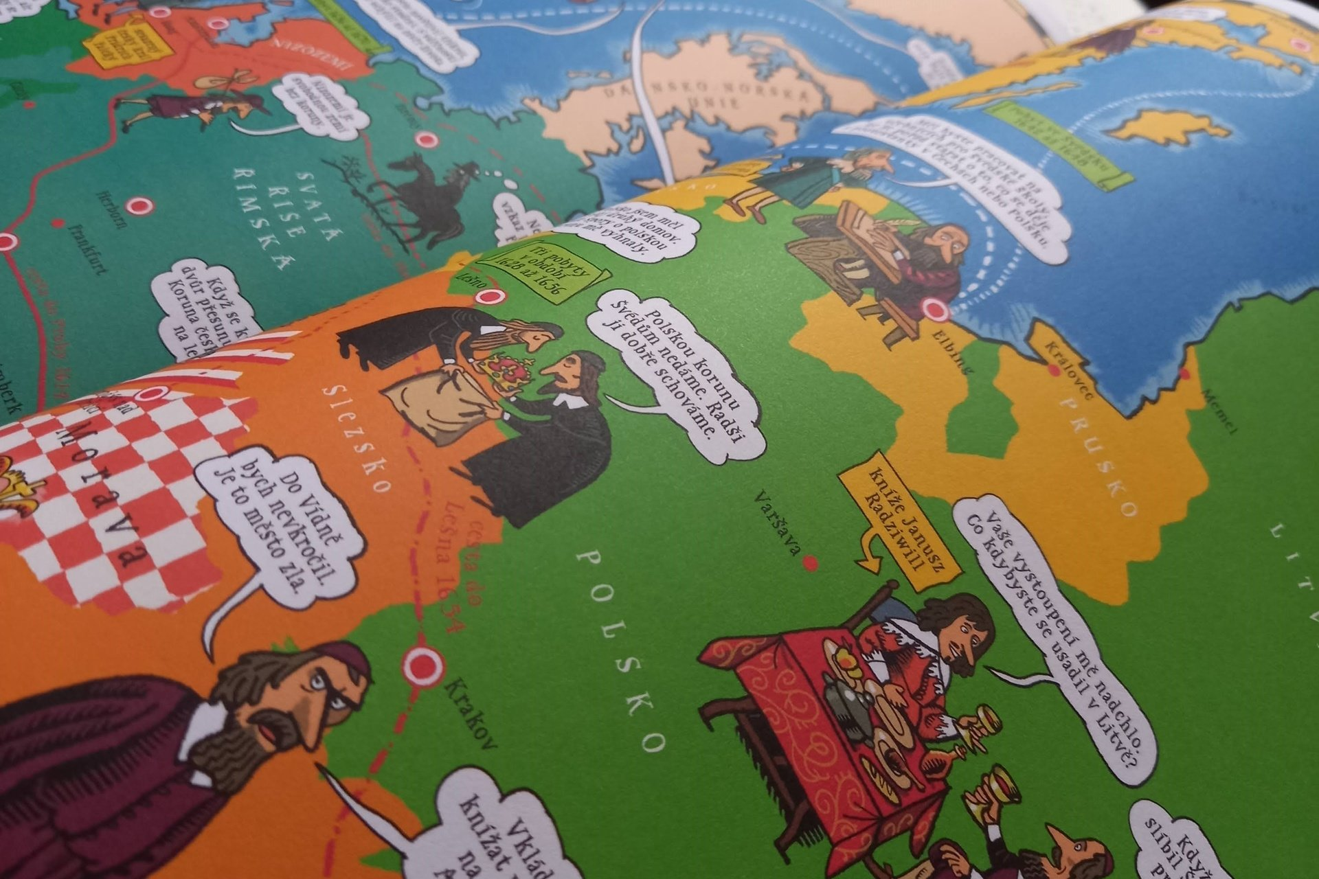 S Komenským do komiksu, únikovka s Ámosem, Klára Smolíková, Lukáš Fibrich, komiks